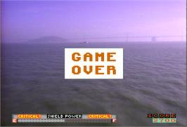 Game Over Screen for Us vs. Them.