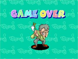 Game Over Screen for Vamf x1/2.