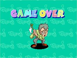 Game Over Screen for Vamp x1/2.