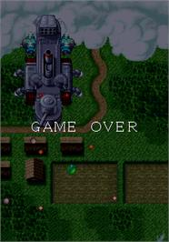 Game Over Screen for Varia Metal.
