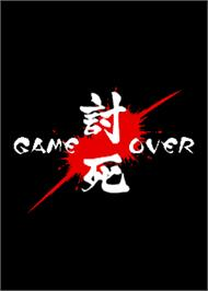 Game Over Screen for Vasara 2.