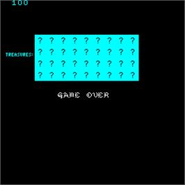 Game Over Screen for Venture.