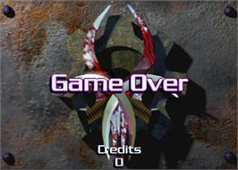 Game Over Screen for Vicious Circle.