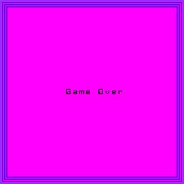 Game Over Screen for Victory.