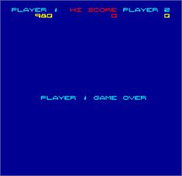 Game Over Screen for Video Eight Ball.