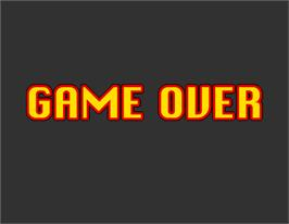 Game Over Screen for Virtua Cop 2.