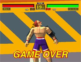 Game Over Screen for Virtua Fighter.