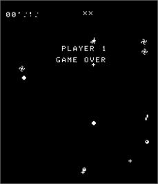 Game Over Screen for Vortex.