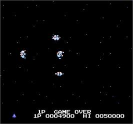 Game Over Screen for Vs. Gradius.
