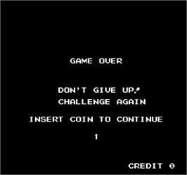 Game Over Screen for Vs. T.K.O. Boxing.