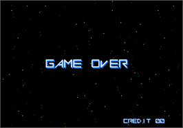 Game Over Screen for Vulcan Venture.