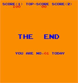Game Over Screen for WW III.