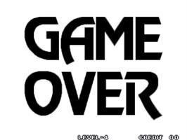 Game Over Screen for Waku Waku 7.