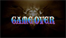Game Over Screen for Warzard.
