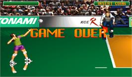 Game Over Screen for Winning Spike.
