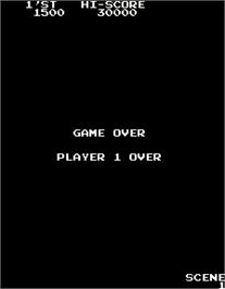 Game Over Screen for Wiping.