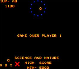Game Over Screen for Wizz Quiz.