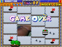 Game Over Screen for Wonder Stick.