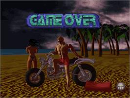 Game Over Screen for World Beach Volley.