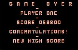 Game Over Screen for World Darts.