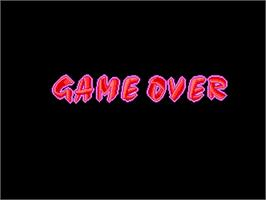 Game Over Screen for World Grand Prix.