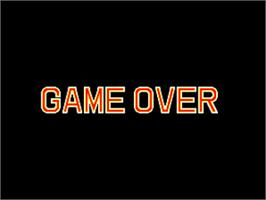 Game Over Screen for World Heroes 2 Jet.
