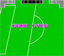Game Over Screen for Worldcup '90.