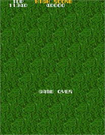 Game Over Screen for Xevious.