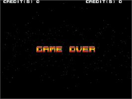 Game Over Screen for Xevious 3D/G.
