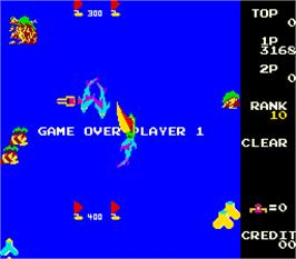 Game Over Screen for Yachtsman.