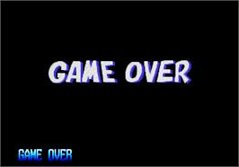 Game Over Screen for Zintrick / Oshidashi Zentrix.