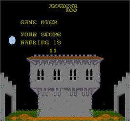 Game Over Screen for Zwackery.