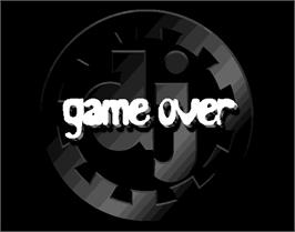 Game Over Screen for beatmania.