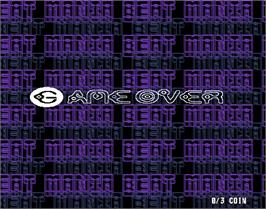Game Over Screen for beatmania 5th MIX.