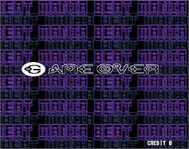 Game Over Screen for beatmania complete MIX 2.