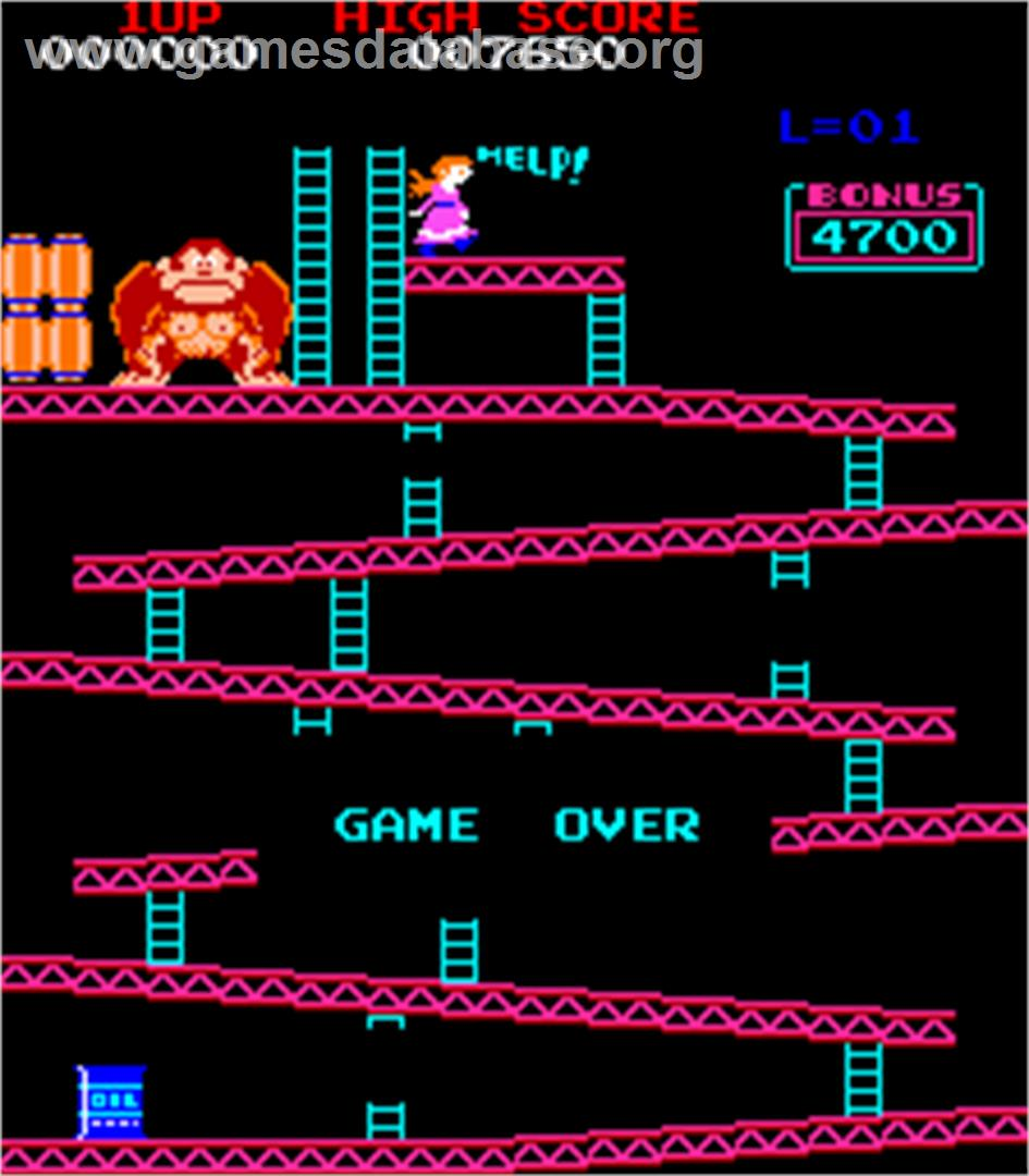 Donkey Kong Arcade Game Over Videogames Help You in Starting a Business