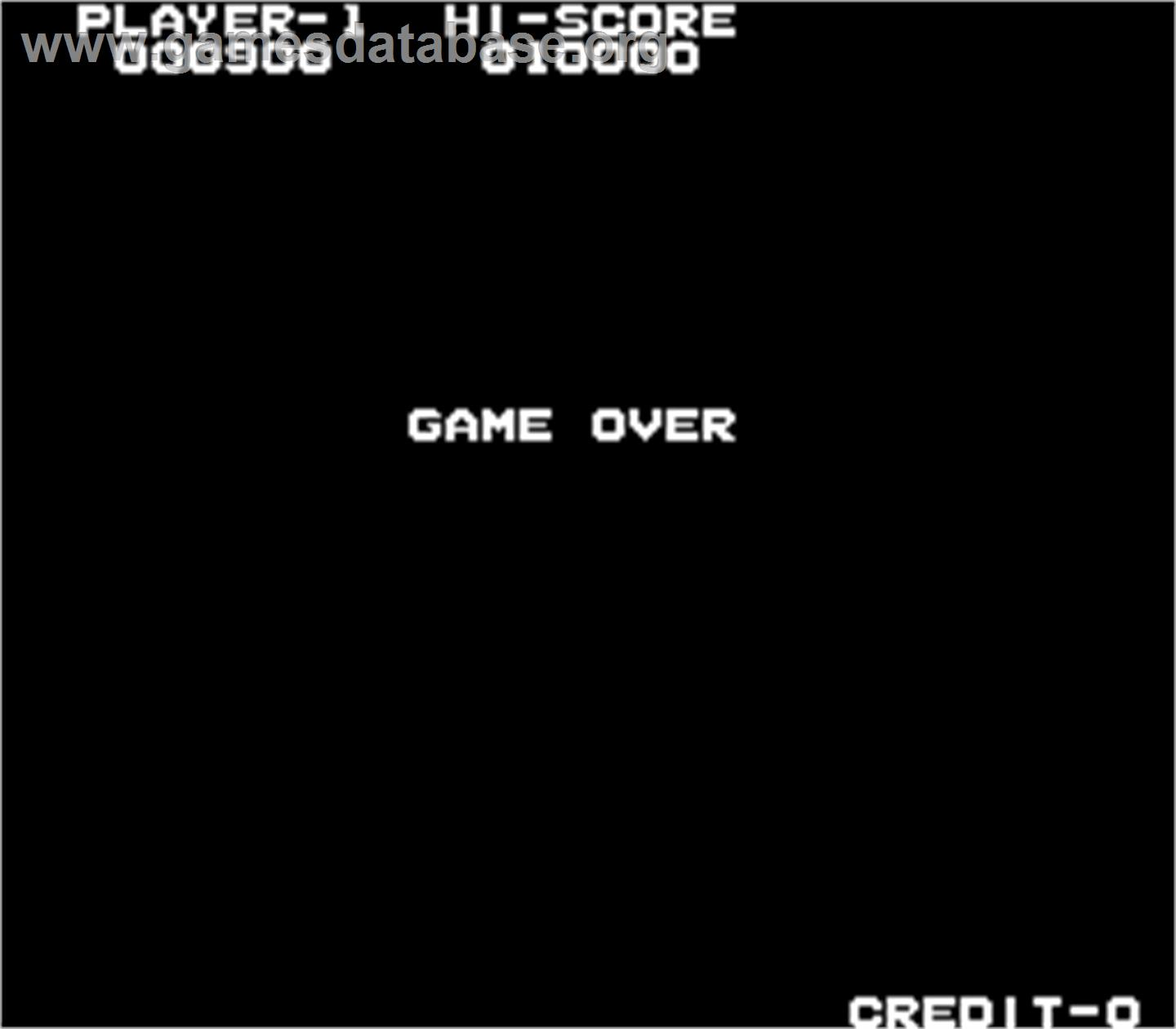 Elevator Action - Arcade - Artwork - Game Over Screen