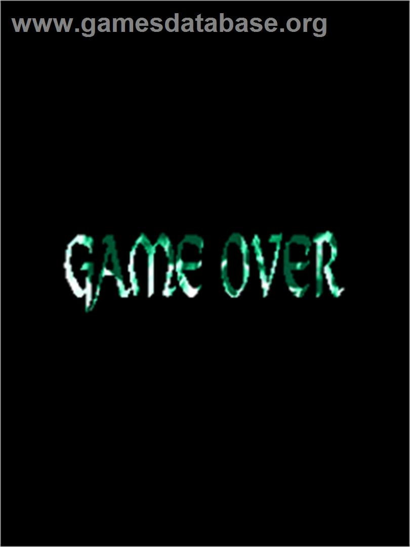 EspGaluda - Arcade - Artwork - Game Over Screen