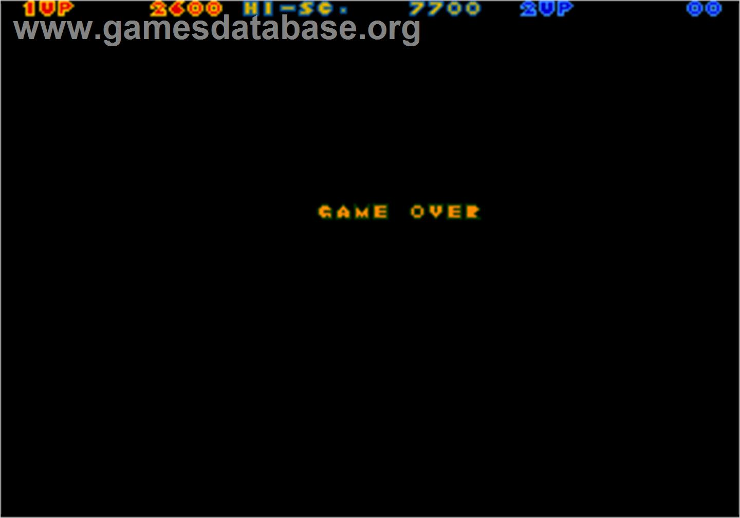 Game Over Screen for Rastan Saga 2.