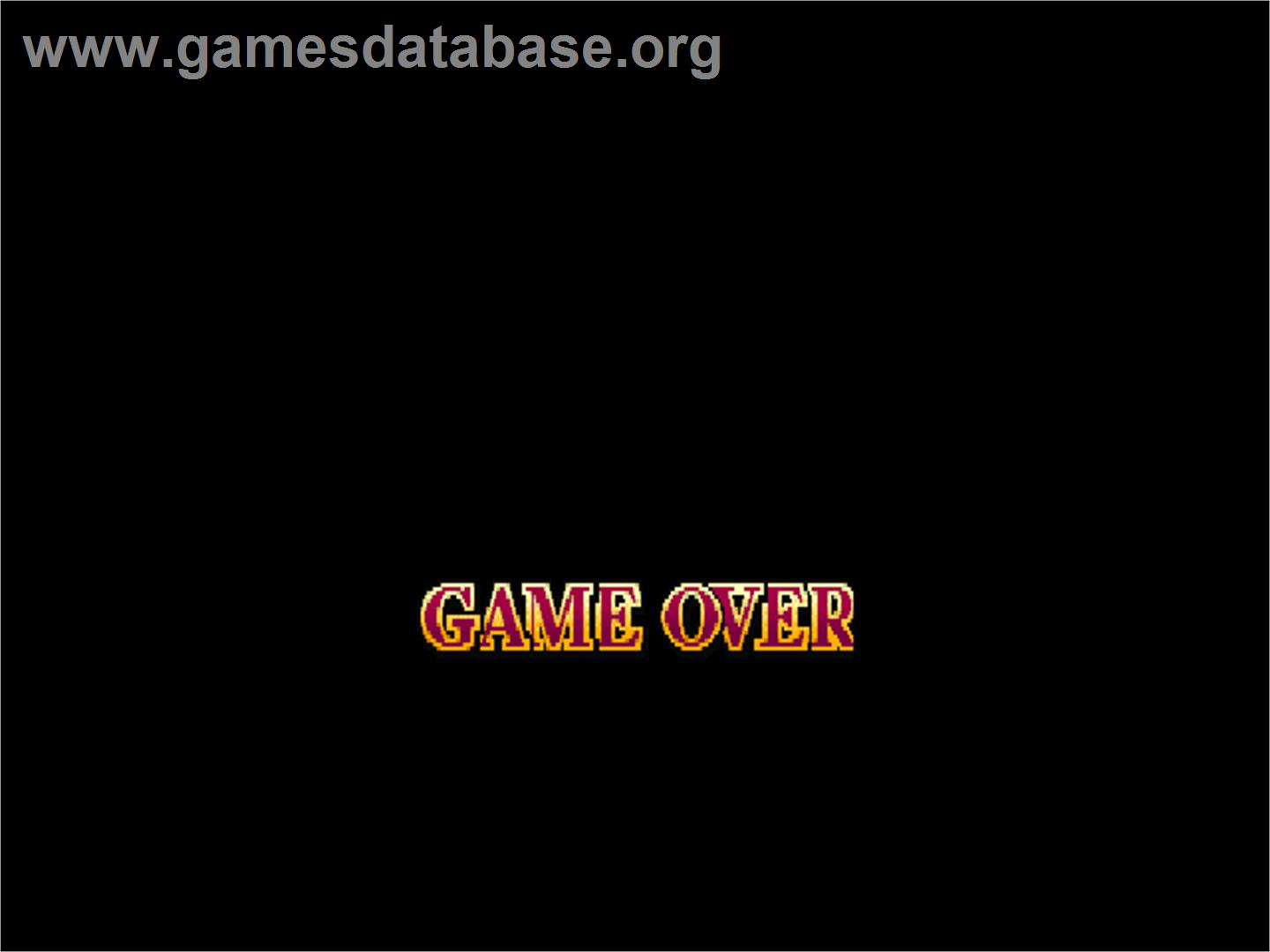 Street Fighter EX 2 - Arcade - Artwork - Game Over Screen