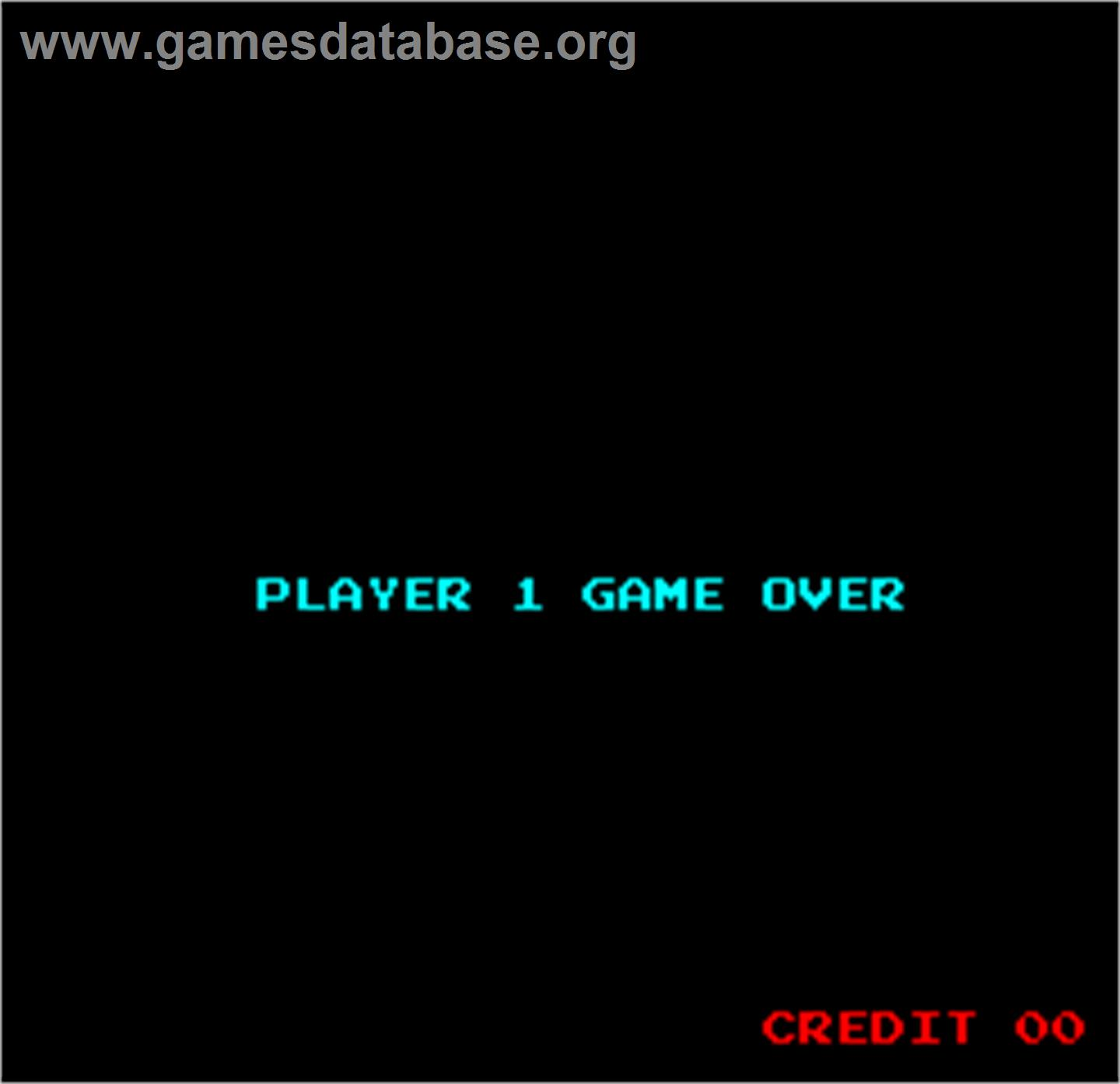 Wall Street - Arcade - Artwork - Game Over Screen