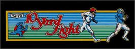 Arcade Cabinet Marquee for 10-Yard Fight.