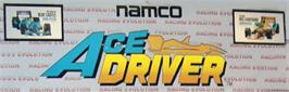 Arcade Cabinet Marquee for Ace Driver.
