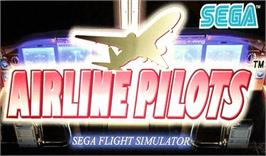 Arcade Cabinet Marquee for Airline Pilots.