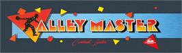 Arcade Cabinet Marquee for Alley Master.