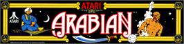 Arcade Cabinet Marquee for Arabian.