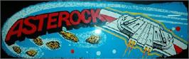Arcade Cabinet Marquee for Asterock.