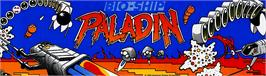 Arcade Cabinet Marquee for Bio-ship Paladin.