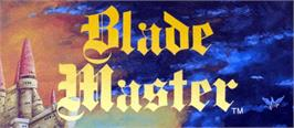 Arcade Cabinet Marquee for Blade Master.