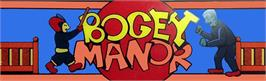 Arcade Cabinet Marquee for Bogey Manor.